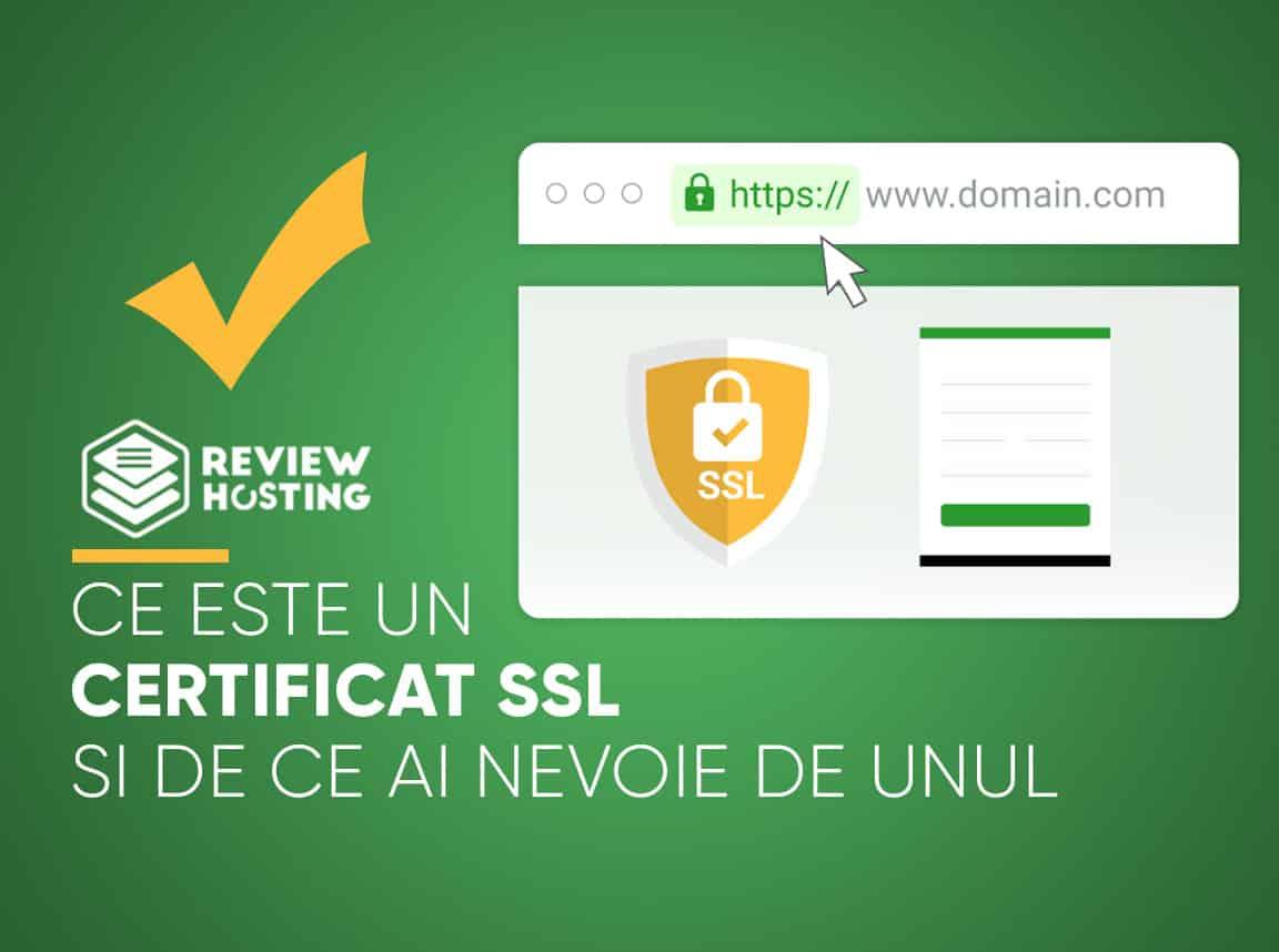 Este ceva normal și obișnuit să ai un SSL iar această soluție va fi mereu disponibilă și prezentată de către oricare furnizor de găzduire web.