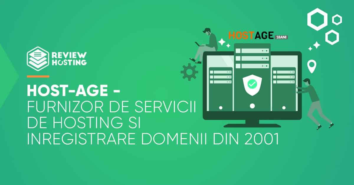Host-Age: furnizor de servicii de hosting si inregistrare domenii din 2001