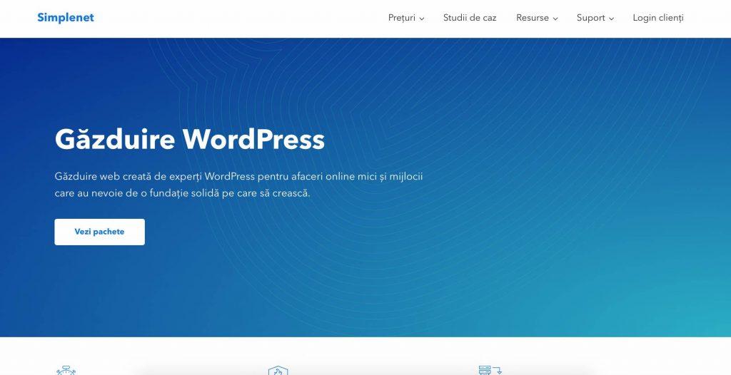 simplenet.ro firmă dedicată găzduirii wordpress